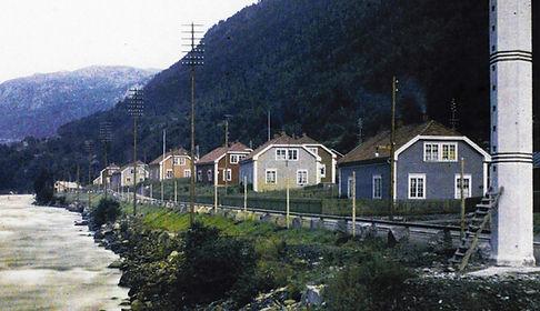 Original bebyggelse i flekkebyen