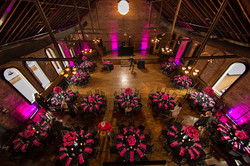 Fuschia pink design for reception