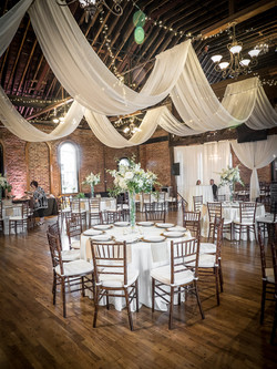 Wedding Reception Draping
