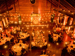bistro lights wedding decorations