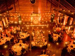 bistro lights wedding decorations