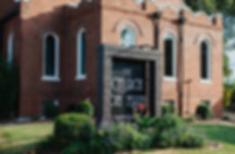 outside of The Church on Main