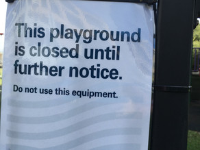 Covid-19 - Rushcutters Bay and Yarranabbe park outdoor facilities lock down.