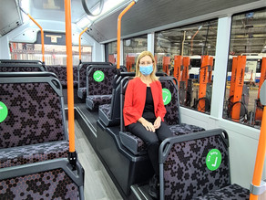 STATE'S FIRST LOCALLY MADE ELECTRIC BUS ON TRIAL - 19th March 2021