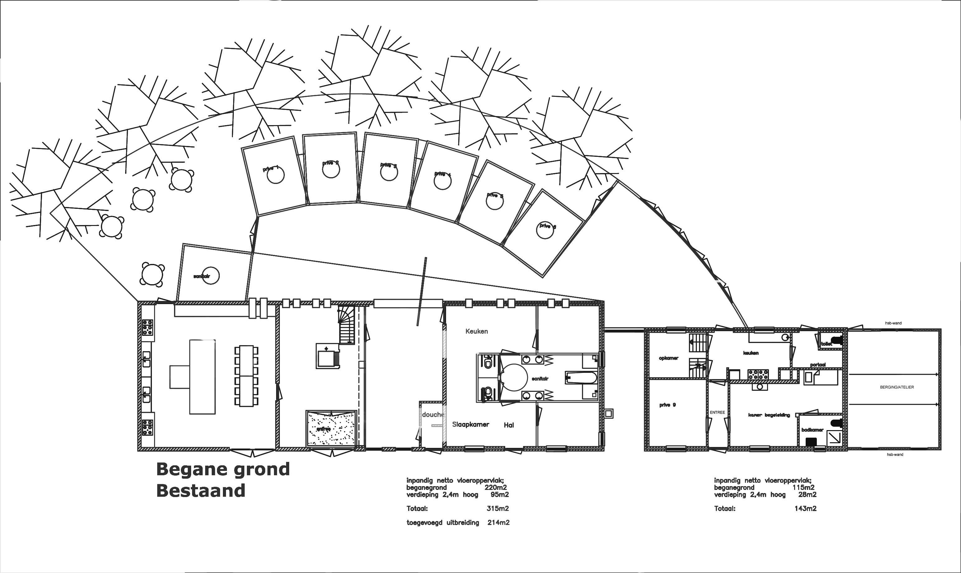 bouwvergunning genneper 169 + 171-Model2