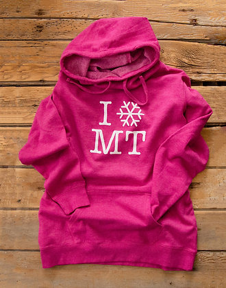 I SNOW MT HOODIE LADIES wholesale