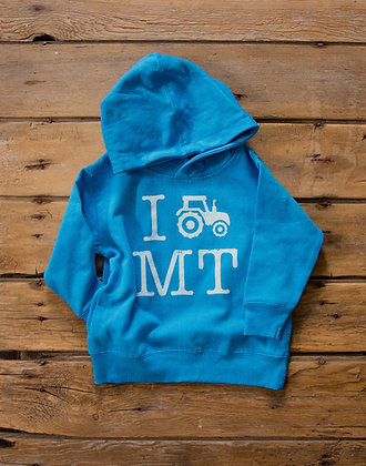 TRACTOR TODDLER HOODIE