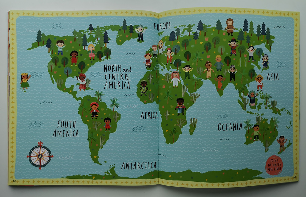 Welcome to our World: A Celebration of Children Everywhere by Moira Butterfield and Harriet Lynas