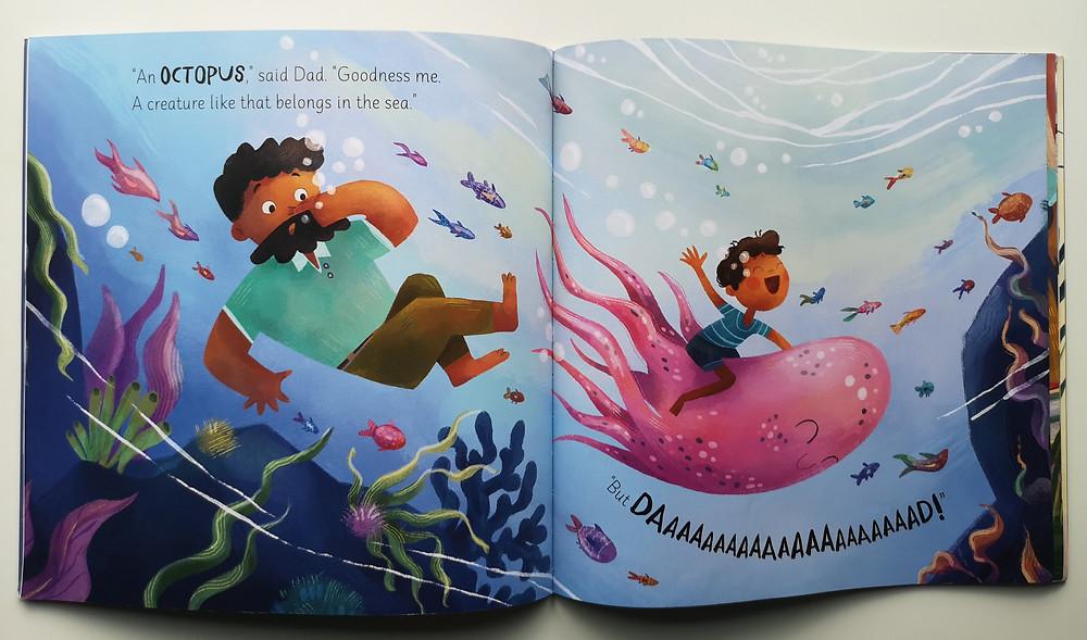 All I Want is an Octopus by Tracy Gunaratnam and Valentina Fontana, Maverick Books