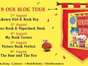 BLOG TOUR: The Viking Who Liked Icing Review + Lu Fraser's Top Five Feel-Good Picture Books