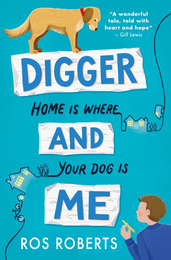 Digger and Me by Ros Roberts, Stripes (Little Tiger)