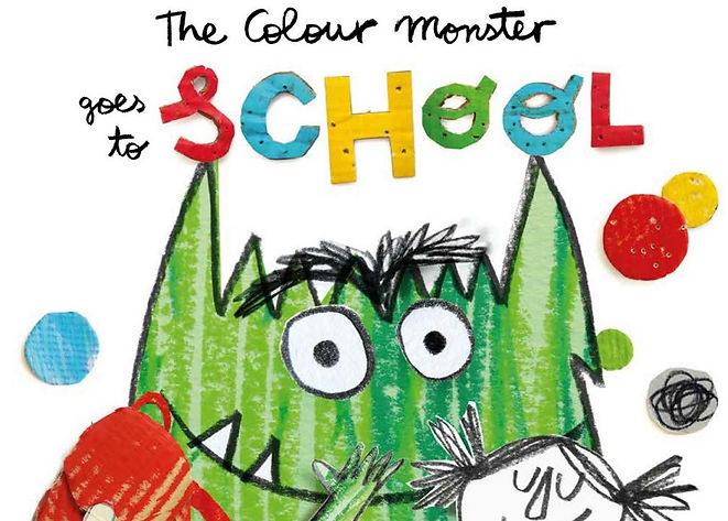 colour monster goes to school anna llena