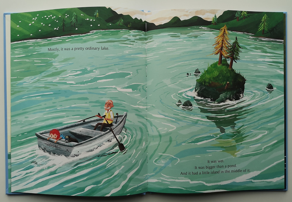 The Vanishing Lake by Paddy Donnelly, Yeehoo Press