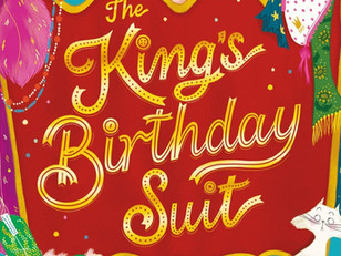 This birthday suit is a royal hoot