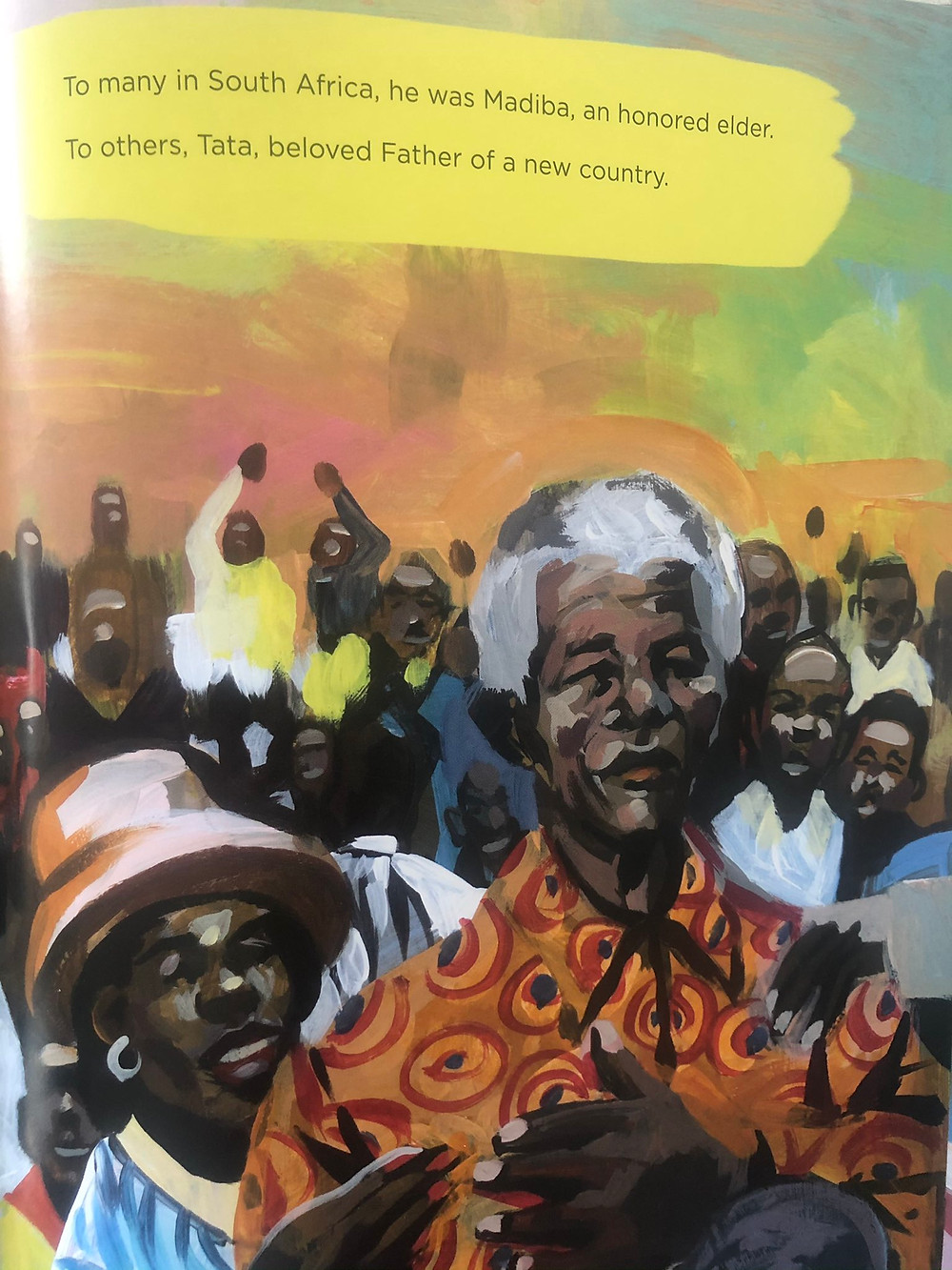 A Plan for the People: Nelson Mandela's Hope for His Nation  by Lindsey McDivitt and Charly Palmer
