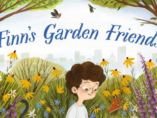 BLOG TOUR: Finn's Garden Friends by Rachel Lawston and Lia Visirin, Pikku Publishing