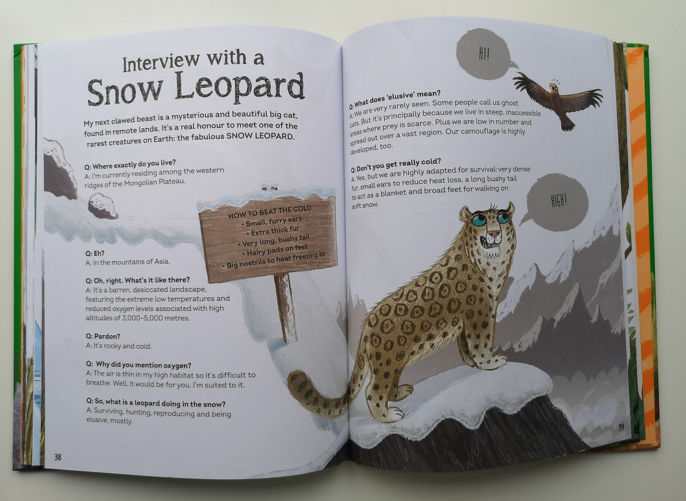 Interview with a Tiger and Other Clawed Beasts Too by Andy Seed and Nick East, Welbeck Publishing