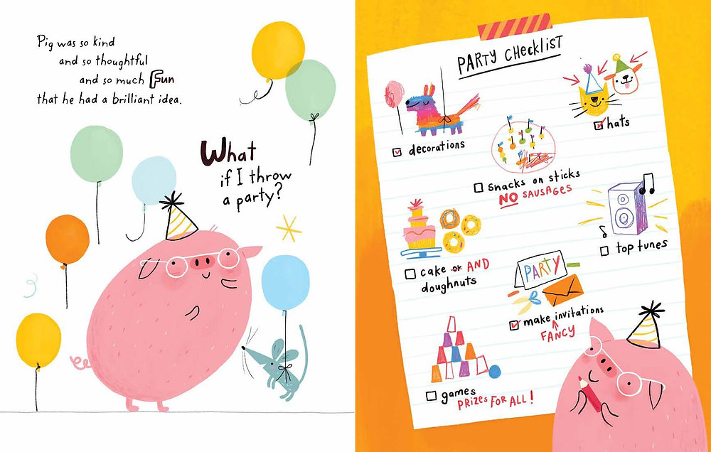 What if, Pig? by Linzie Hunter, HarperCollins