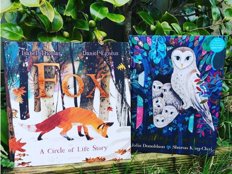 Book Match Monday: Fox and Counting Creatures