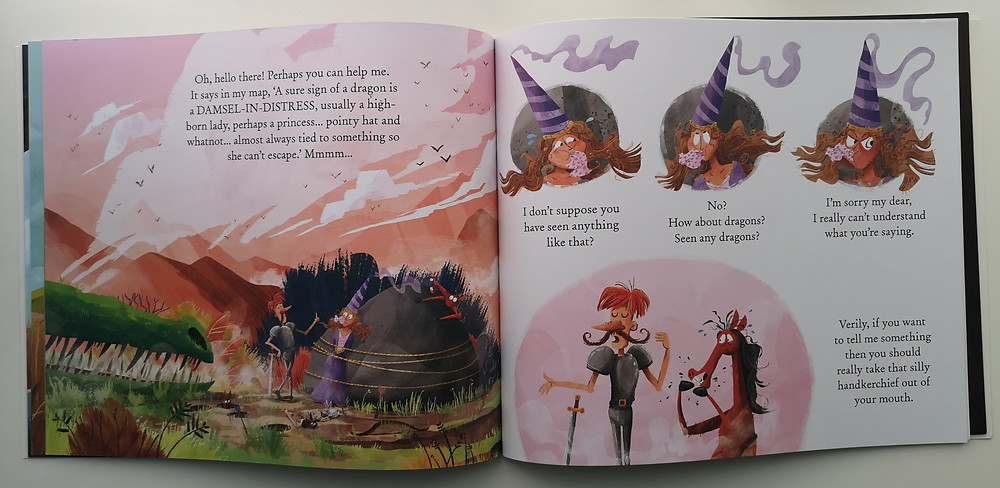 Here Be Dragons by Susannah Lloyd and Paddy Donnelly, Frances Lincoln