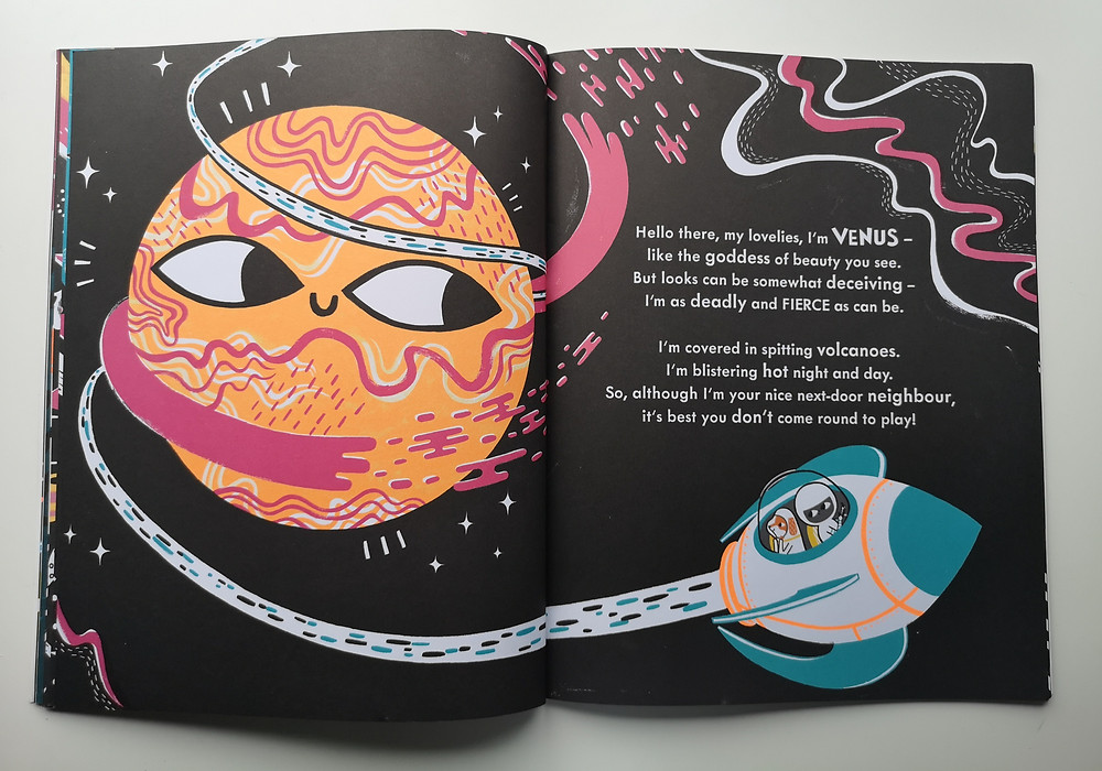 Meet the planets caryl hart bethan woollvin bloomsbury