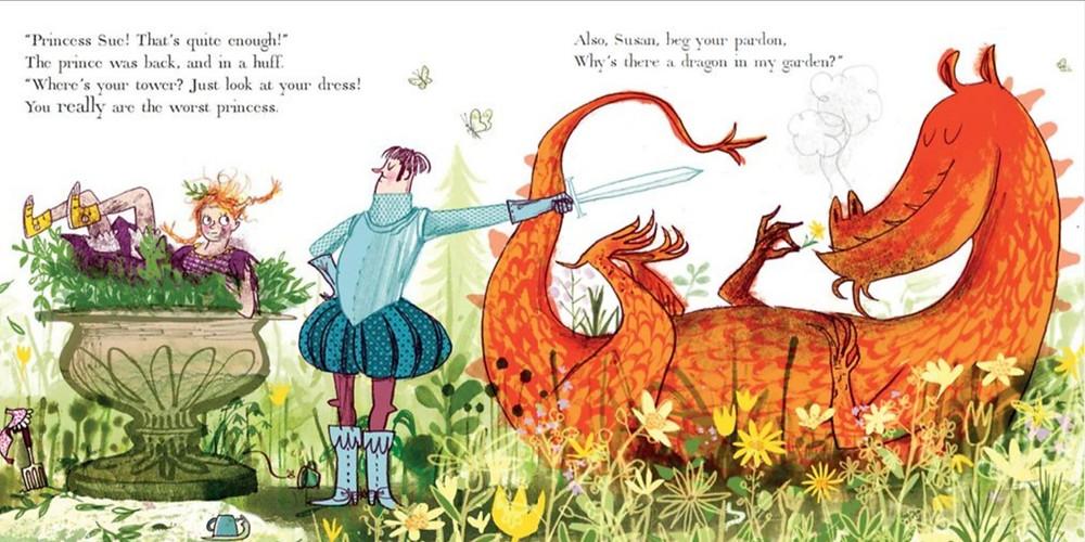 The Worst Princess by Anna Kemp and Sarah Ogilvie, Simon and Schuster