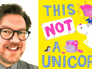 Ged Adamson chats to us about This is NOT a Unicorn!