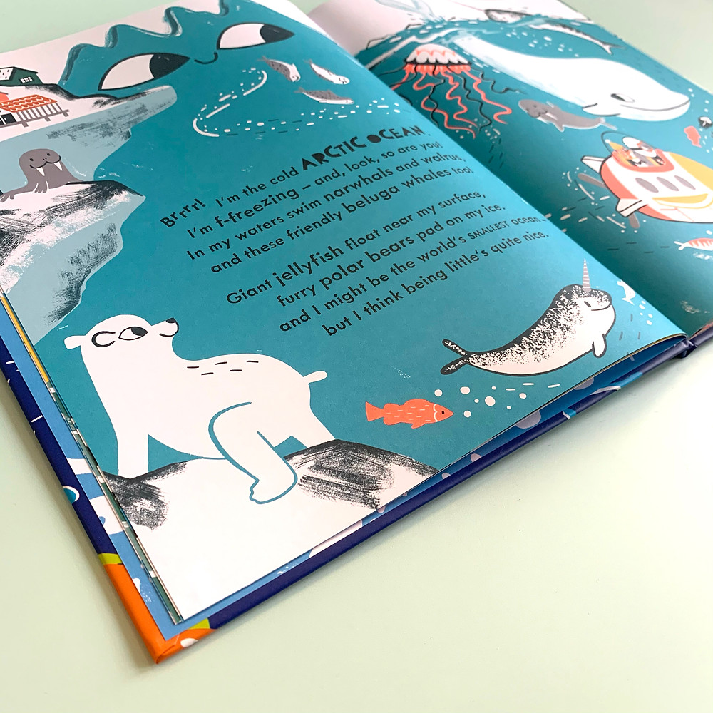 Meet the Oceans by Caryl Hart and Bethan Woollvin, Bloomsbury