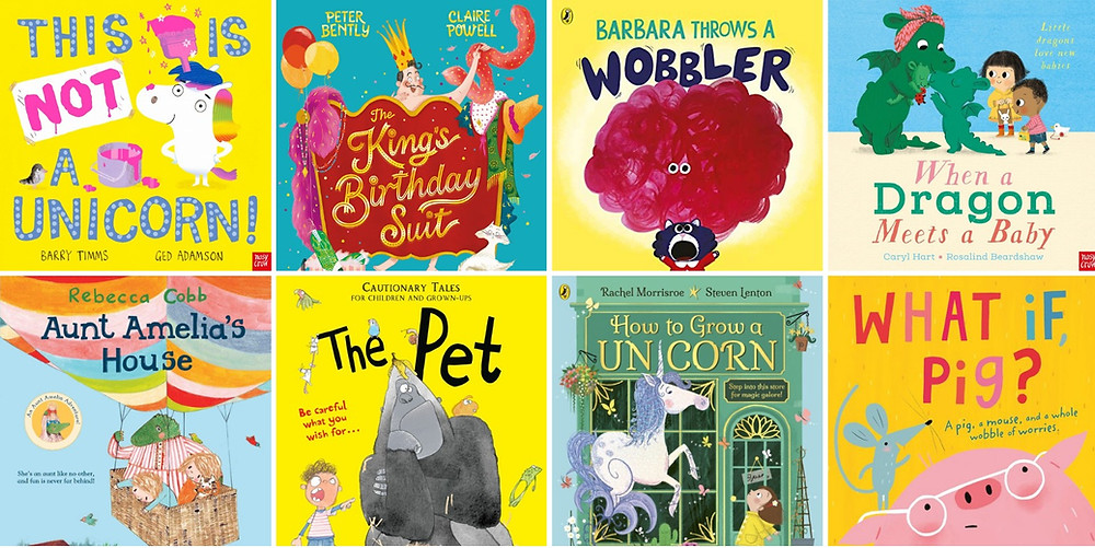 Here are some fabulous picture books releasing in April, May and June that we're really excited about...