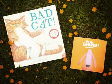 Book Match Monday: Oh No, George! and Bad Cat!