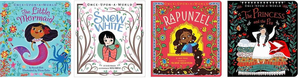 The Once Upon a World collection published by Simon & Schuster