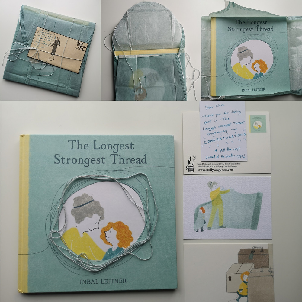 The Longest Strongest Thread by Inbal Leitner Instagram giveaway prize Scallywag Press