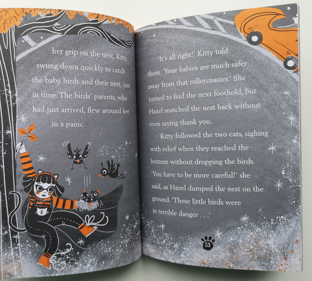 Kitty and the Twilight Trouble by Paula Harrison and Jenny Løvlie, Oxford Children's Books