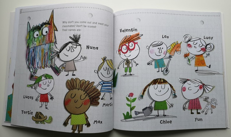 The Colour Monster Goes to School Anna Llenas