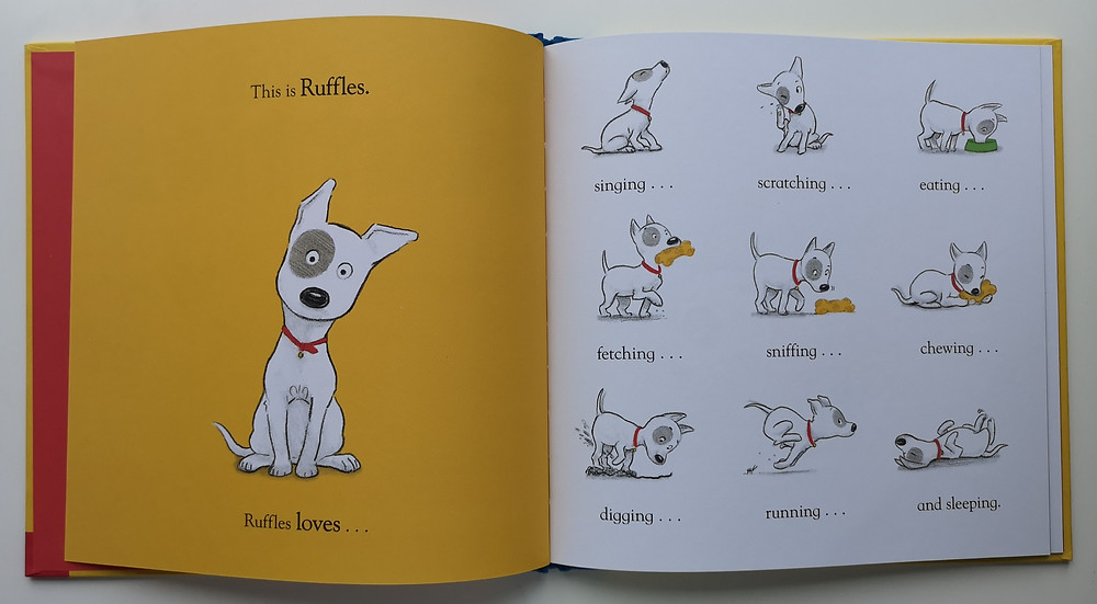 Ruffles and the Red, Red Coat by David Melling, Nosy Crow