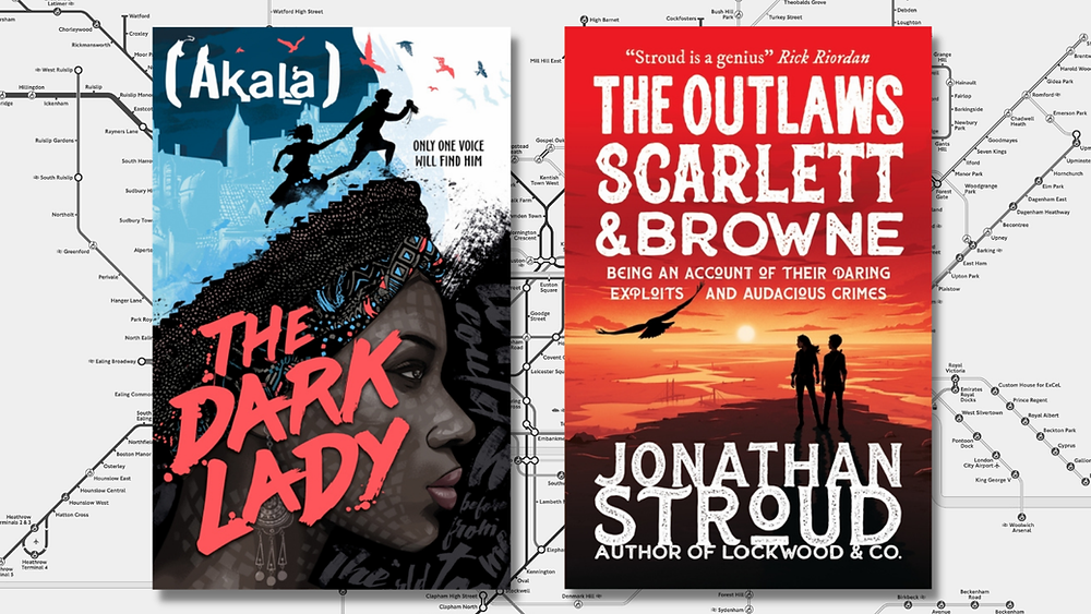 The Dark Lady by Akala and The Outlaws Scarlett and Browne by Jonathan Stroud