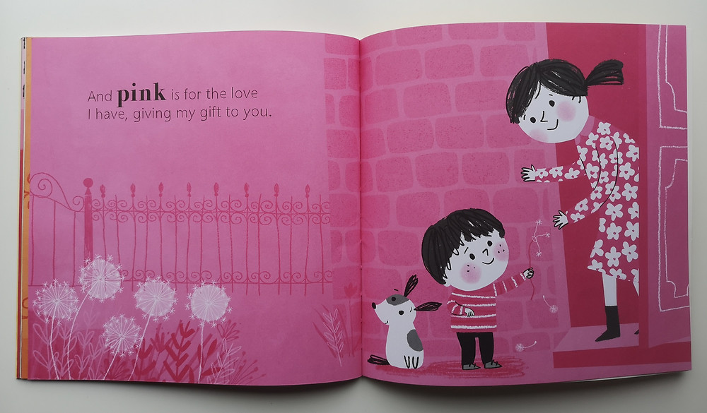 The Colour of Happy by Laura Baker and Angie Rozelaar