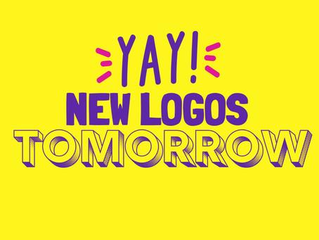 COMING SOON: New logos designed by Tarsila Krüse!