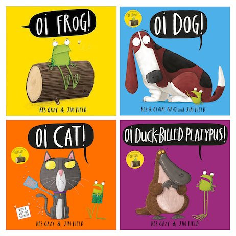 The Oi! series by Kes Gray and Jim Field, Hodder Children's Books