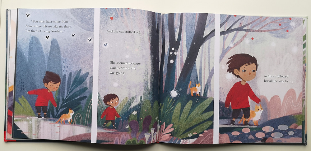 Somewhere by Jeanne Willis and Anastasia Suvorova, Nosy Crow
