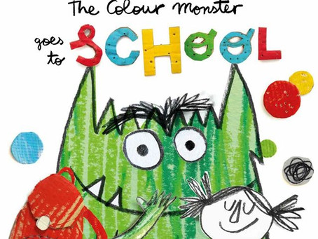 The Colour Monster Makes School Less Scary!