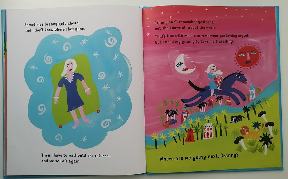 Travels with my Granny by Juliet Rix and Christopher Corr Otter Barry Books