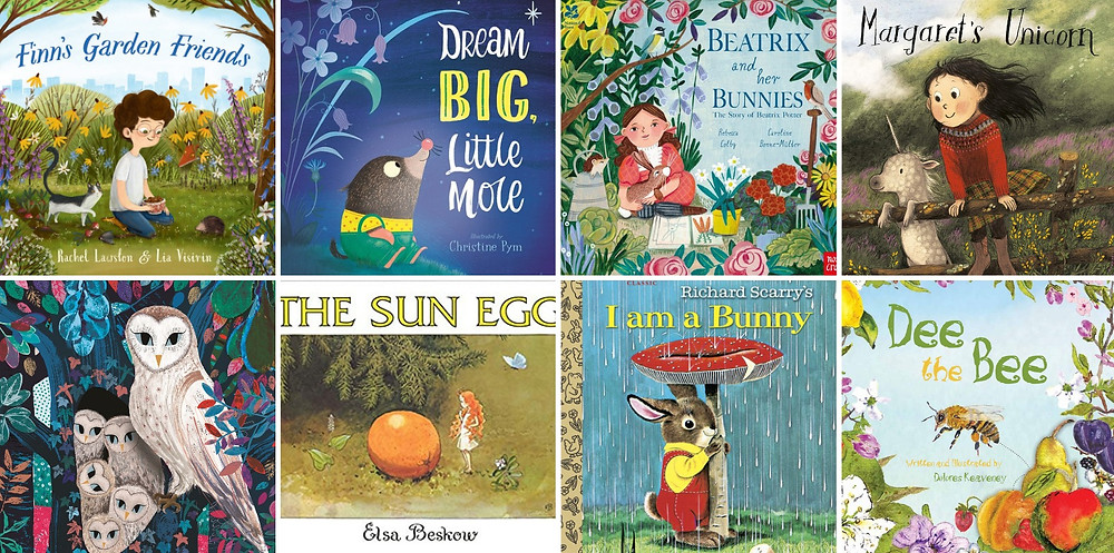 Spring is in the air in these gorgeous picture books reviewed by Picture Book Snob