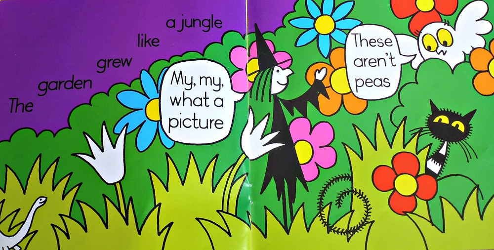 image from Meg's Veg by Helen Nicoll and Jan Pienkowski puffin books