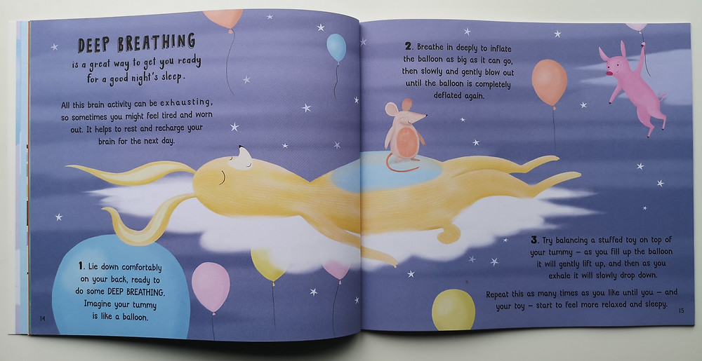 The Calm Book by Alex Allan and Anne Wilson, Welbeck Children's Books