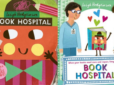 BLOG TOUR: Book Hospital by Leigh Hodgkinson review + interview