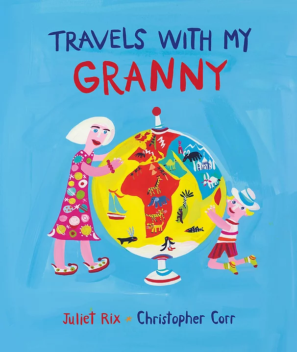 Cover Travels with my Granny by Juliet Rix and Christopher Corr Otter Barry Books
