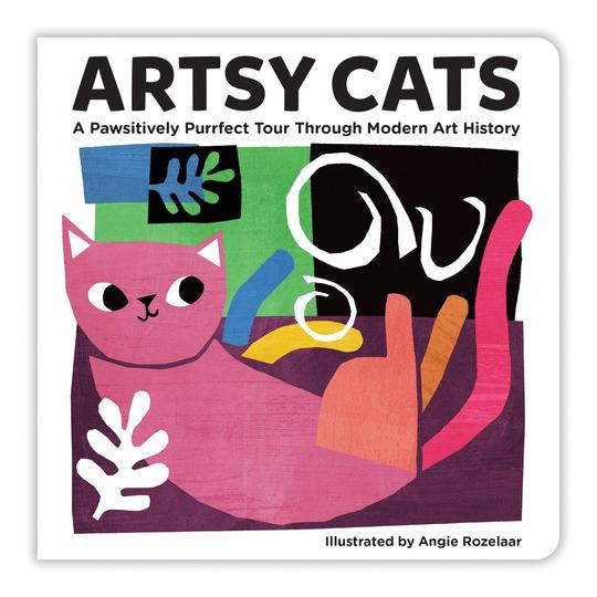 Artsy Cats Angie Rozelaar