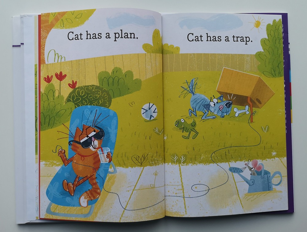 Cat Has a Plan by Laura Gehl and Fred Blunt, Simon & Schuster