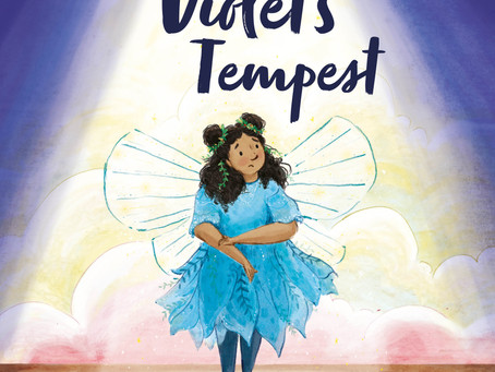 BLOG TOUR: Violet's Tempest by Ian Eagleton & Clara Anganuzzi review + interview